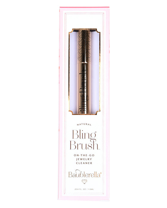 Baublerella Bling Brush Natural Jewelry Cleaner - Hattan Home - 1