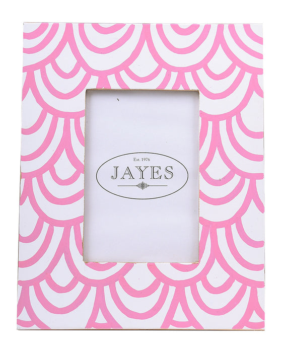 Tole Pink Scales Photo Frame - Hattan Home - 1