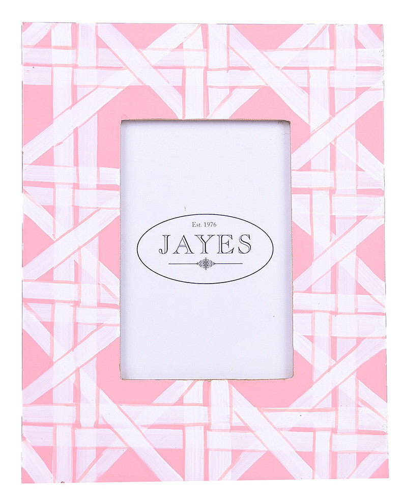 Tole Coral Cane Photo Frame - Hattan Home - 1