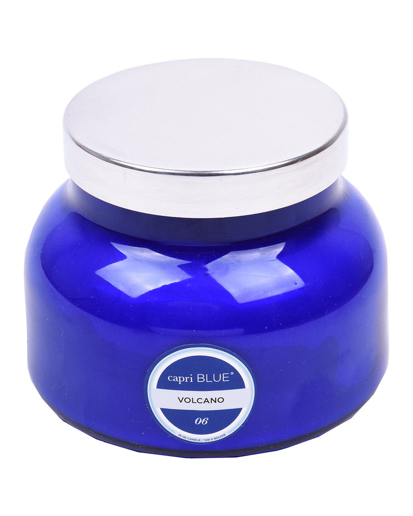 Capri Blue Signature Blue Volcano Candle Jar - Hattan Home - 1