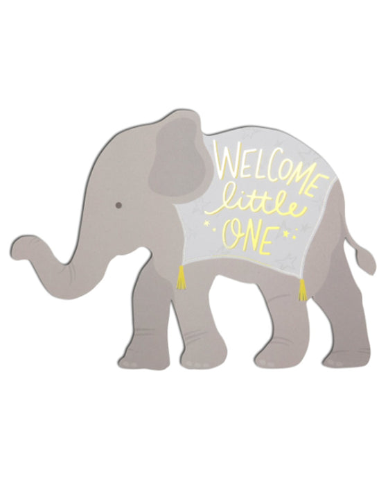 The Social Type Welcome Little One Card