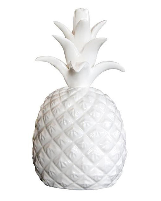 White Ceramic Perfect Pineapple