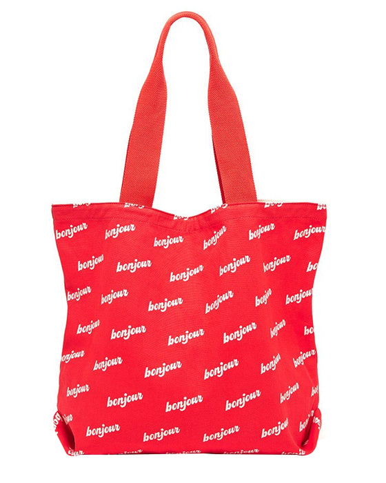 Ban.do Big Canvas Tote Bonjour