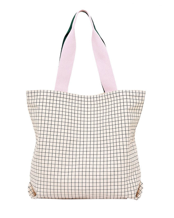 Ban.do Big Canvas Tote Mini Grid