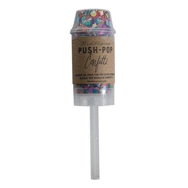 Thimble Press Push-Pop Confetti - Hattan Home - 10