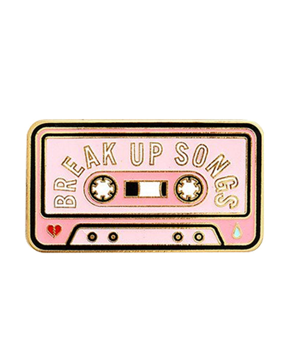 Ban.do Breakup Songs Enamel Pin