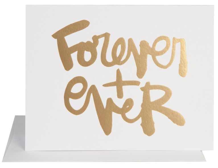 Forever + Ever Card - Hattan Home - 2