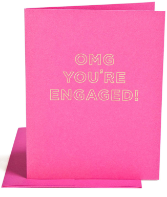 OMG You're Engaged Card - Hattan Home - 2