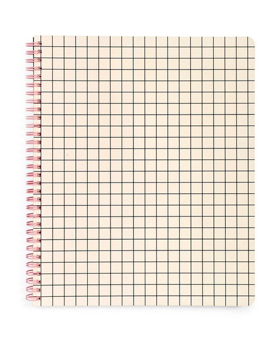 Ban.do Large Mini Grid Notebook