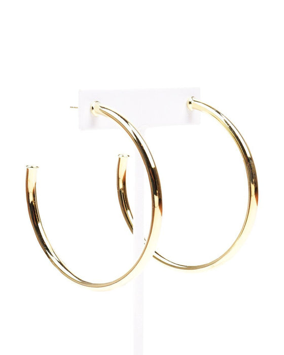 Sheila Fajl Everybody's Favorite Shiny Gold Hoops - Hattan Home - 1