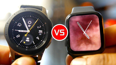 apple watch series 4 vs samsung galaxy watch