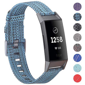 Fitbit Charge 3 Compatible Fabric Band