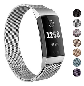 Fitbit Charge 3 Compatible Metal Band