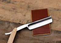 Personalized Straight Razor Shave Set