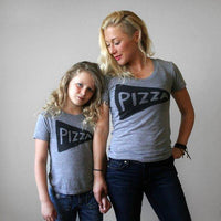 Mommy and Me Matching Pizza T-Shirts