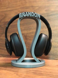 Personalized Headphone Stand