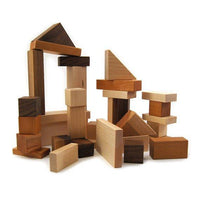 Montessori Wooden Building Blocks