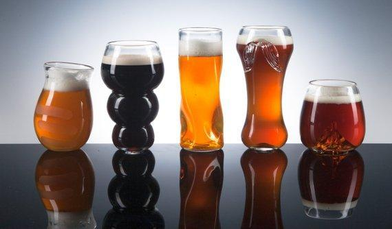 Snobby Set Beer Glasses