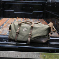 Charles Military Style Oversized Weekend Travel Duffel
