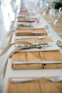 Rustic Wood Placemats