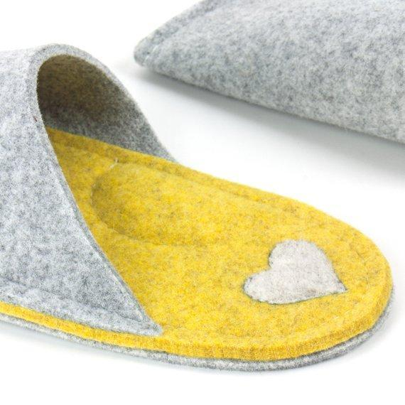 Wool Felt Slippers