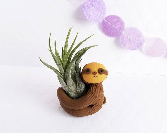 Sloth Air Planter