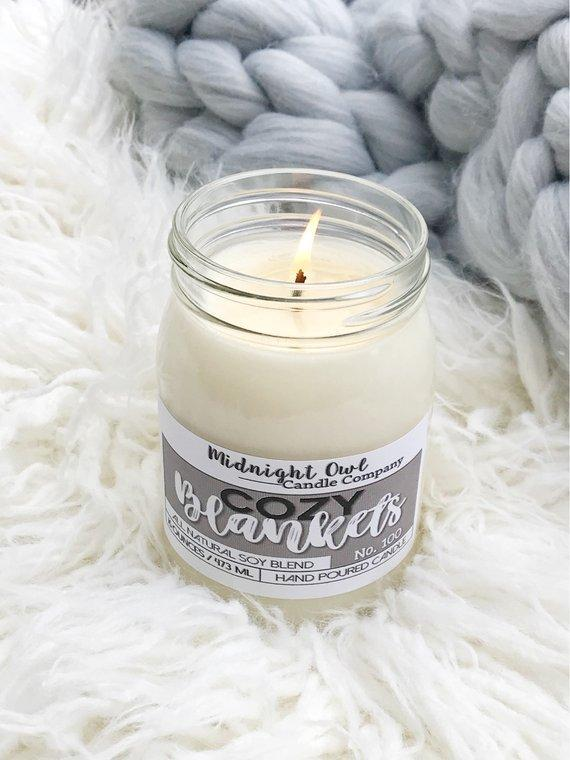 Cozy Blankets Candle