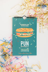 Pun with Foods 3.0 Limited Edition Wall Calendar Set