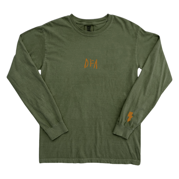 Pigment Dyed Logo Long Sleeve