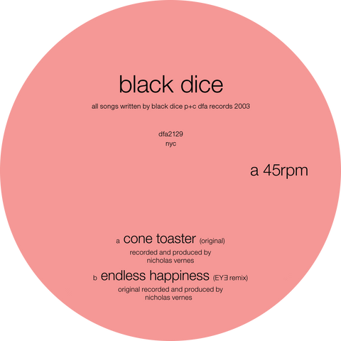 Black Dice - Cone Toaster 12