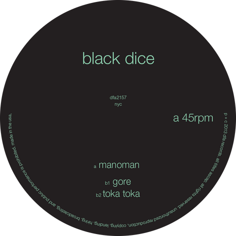 Black Dice - Manoman
