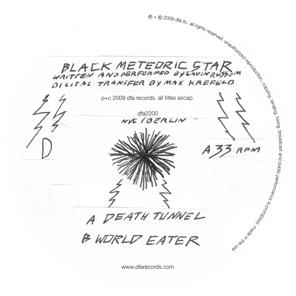 Black Meteoric Star - Death Tunnel b/w World Eater