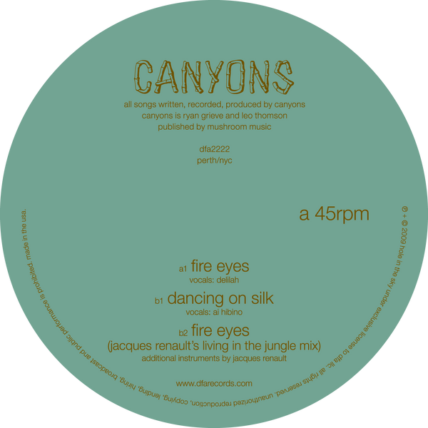Canyons - Fire Eyes