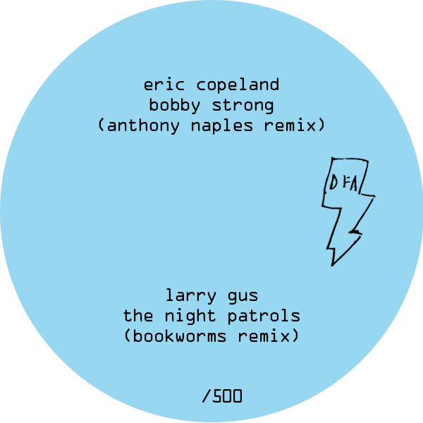 Eric Copeland (Anthony Naples Remix) + Larry Gus (Bookworms Remix) Split 12""