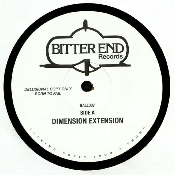 Bitter End (Crooked Man) - Dimension Extension 12""