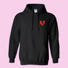 Heart Logo Shirt and Hoodie