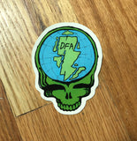 Continental Drift Sticker