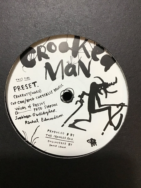 Crooked Man - Preset / Scum (Always Rises To The Top) 12""