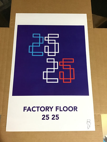 Factory Floor - 2525 Promotional Poster