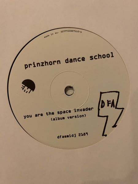 "Prinzhorn Dance School - You Are The Space Invader (OPTIMO Remix) (White Label 12"")"