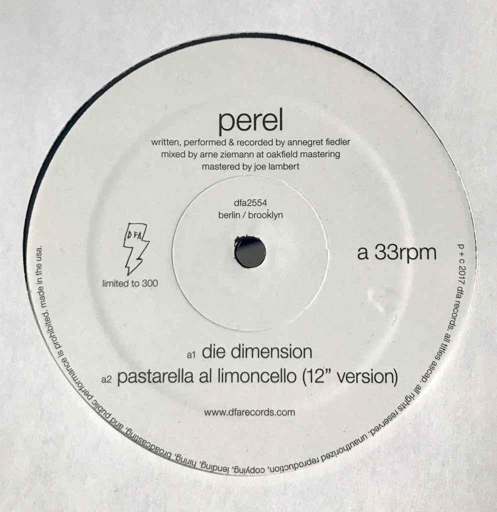Perel Die Dimension Dfa Records