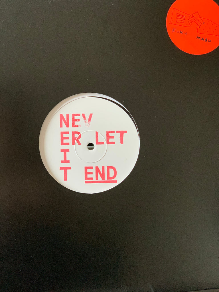 "Museum Of Love - Never Let It End w/ Hardway Bros Remix (White Label 12"")"