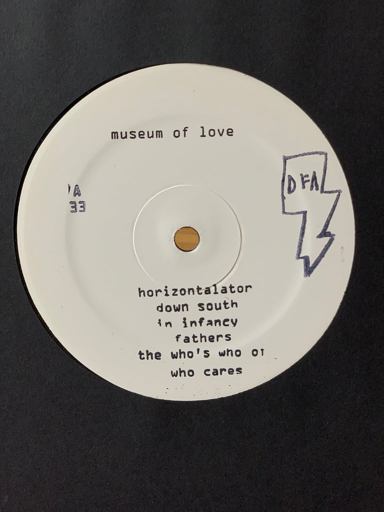 Museum Of Love - Museum Of Love (White Label full LP, hand stamped)