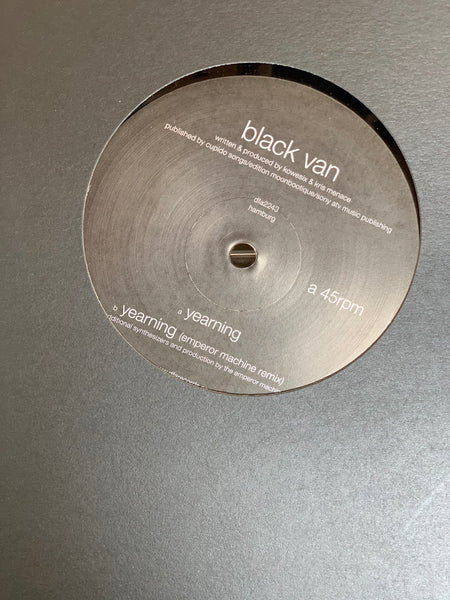 "Black Van - Yearning 12"" Emperor Machine Remix"
