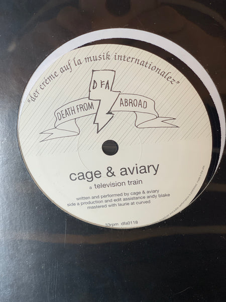 "Death From Abroad Series / Cage & Aviary - Television Train 12""  - Jamie Paton"