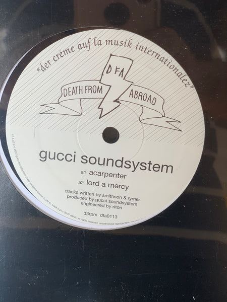 Death From Abroad Series / Gucci Soundsystem - Acarpenter 12""