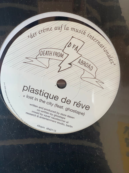 Death From Abroad Series / Plastique Du Reve - Lost In The City 12""