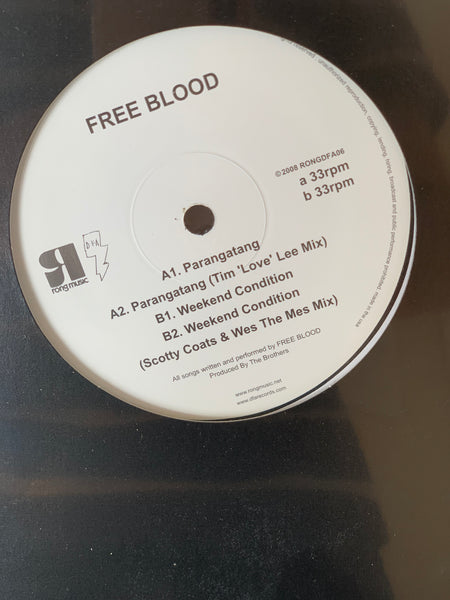 DFA+RONG Series / Free Blood - Parangatang / Weekend Condition 12""
