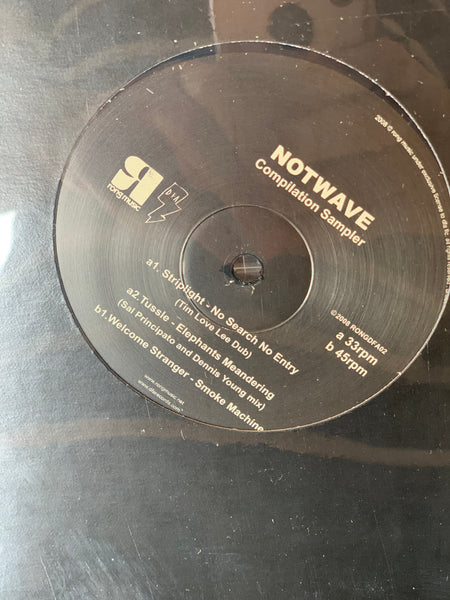 DFA+RONG Series / Notwave Compilation Sampler Liquid Liquid 12""