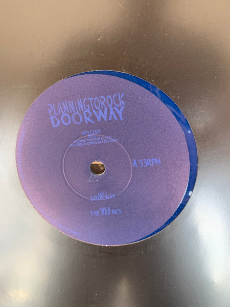 "Planningtorock - Doorway 9"" BLUE VINYL"